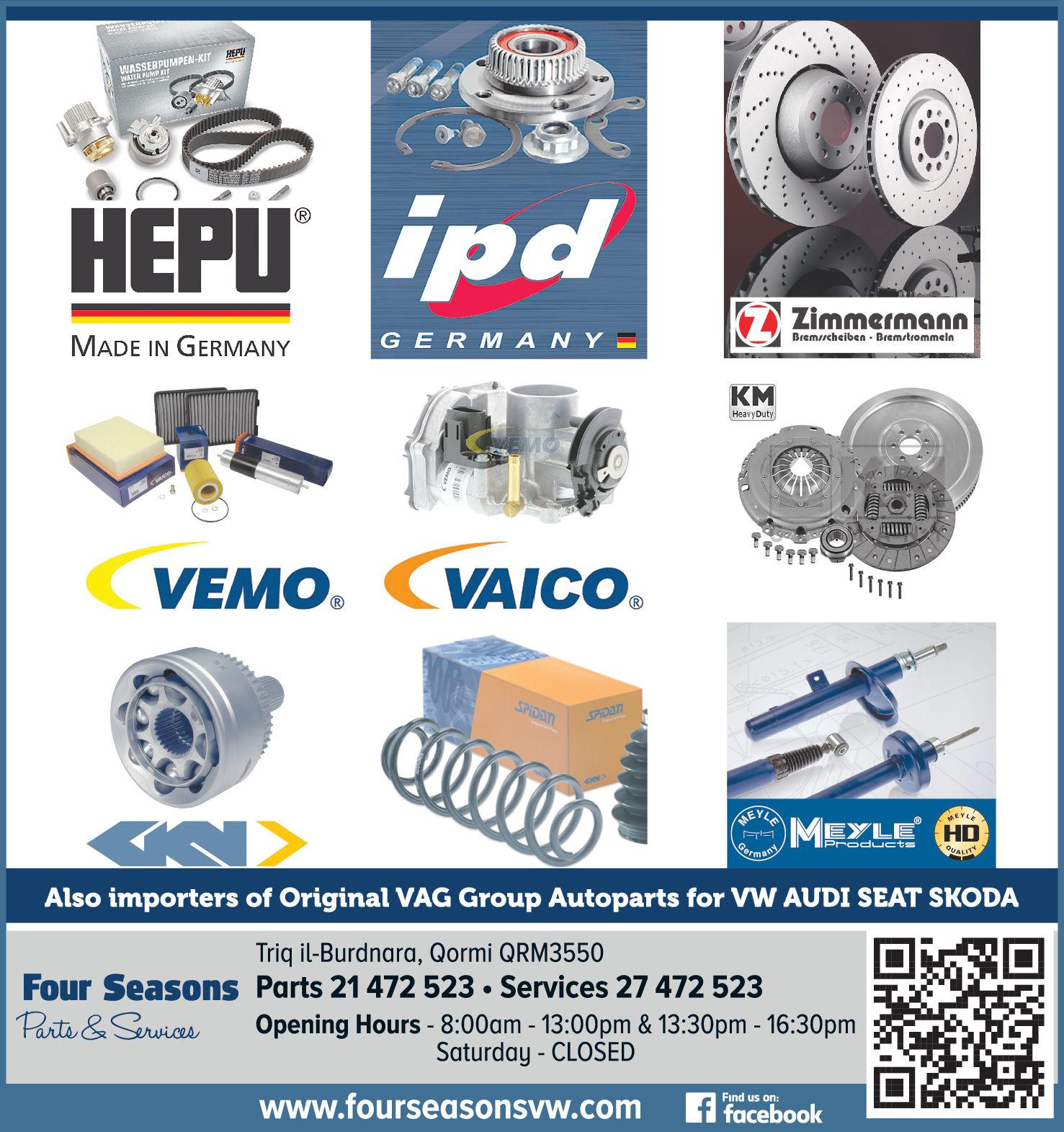 Four Seasons Motor Repair - Auto Parts & Accessories in