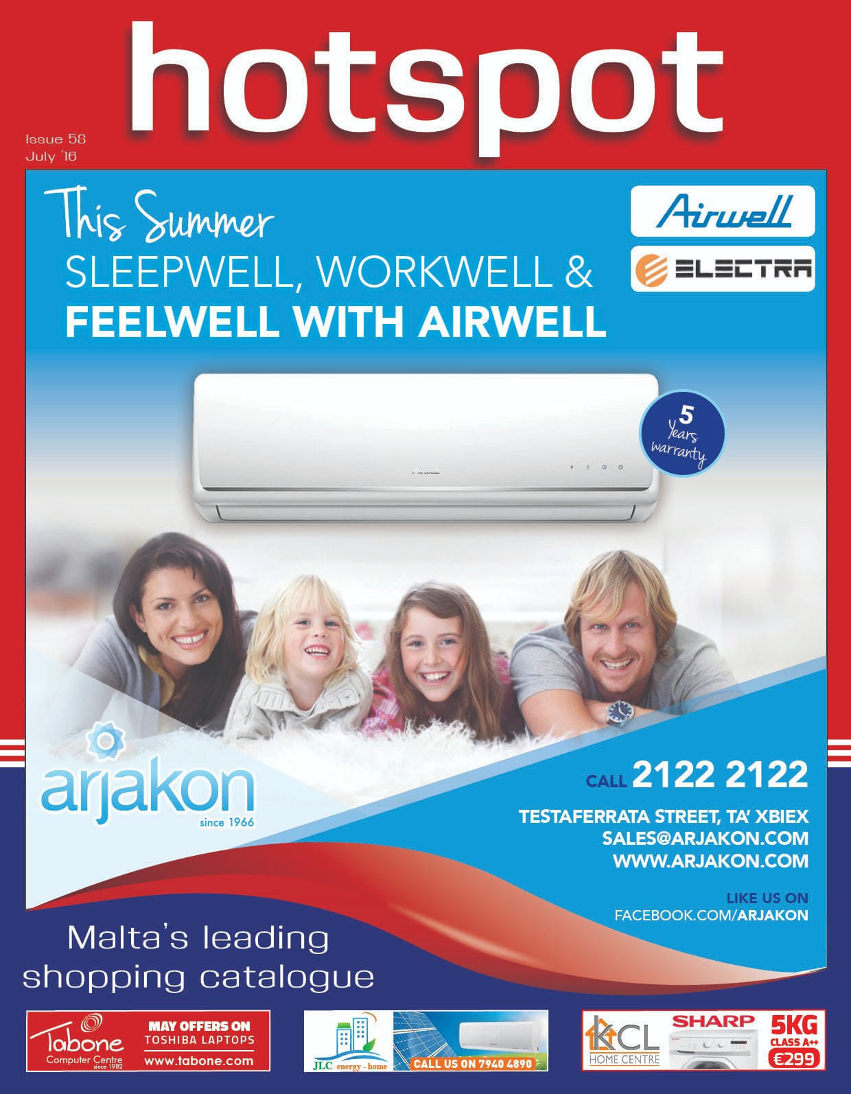 Arjakon Co Ltd - Air Conditioners