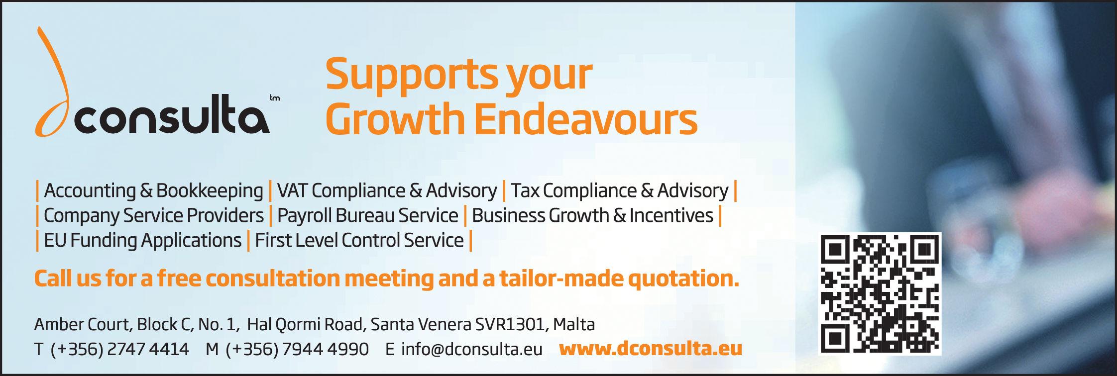 DConsulta Ltd - Accountants-Certified Public in Sta Venera