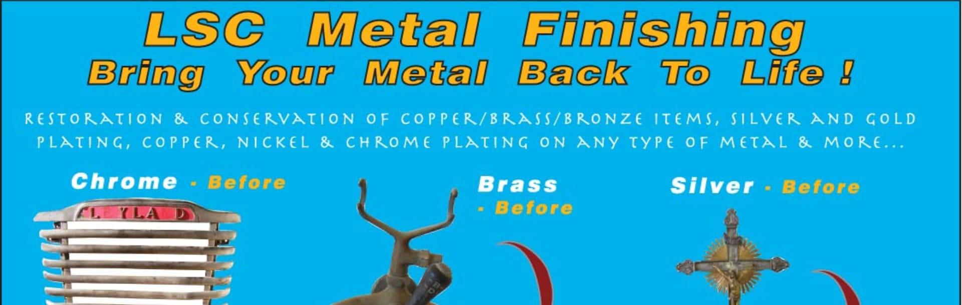LSC Metal Finishing - Chrome Plating & Metal Finishing in
