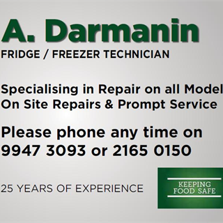 A A Darmanin - Domestic Appliances - Repair & Parts