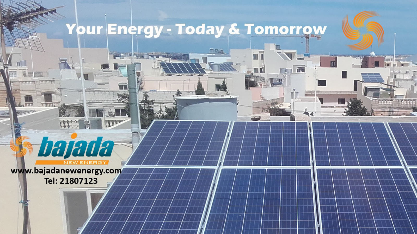 Bajada New Energy Ltd - Photovoltaic Systems in Marsa, Malta