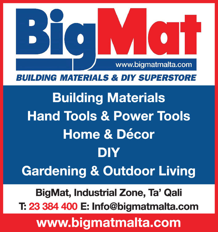 Bigmat do it yourself stores in attard malta yellow malta bigmat do it yourself stores solutioingenieria Images