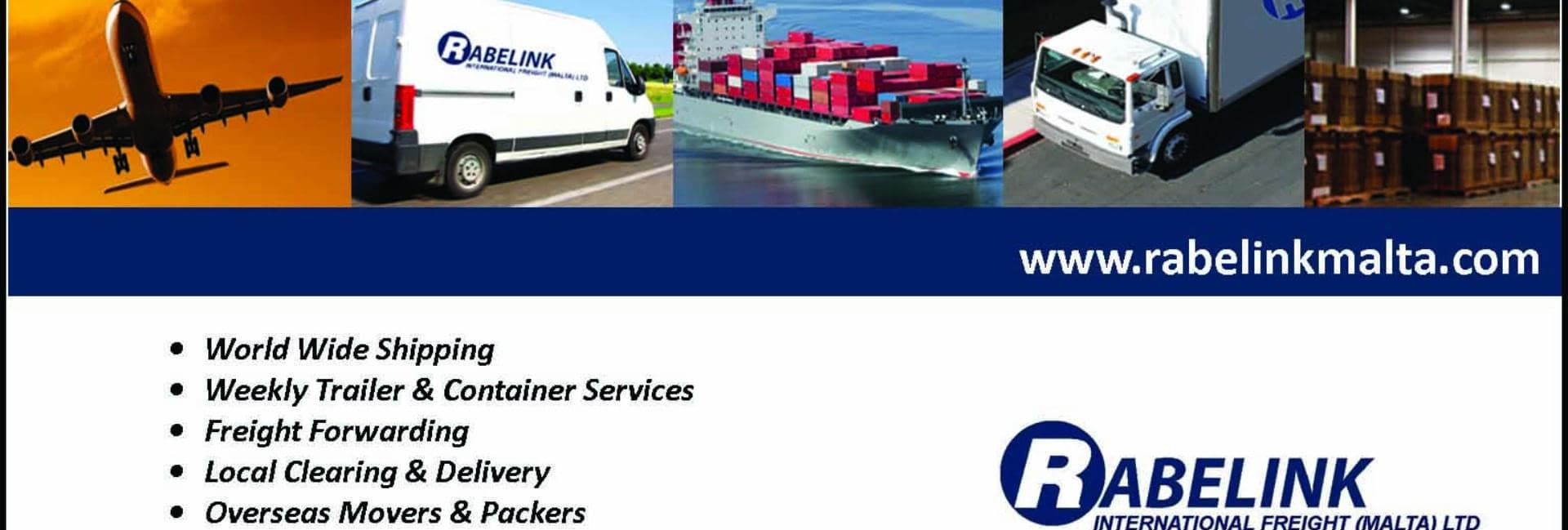 Rabelink International Freight (Malta) Ltd - Freight Forwarders in