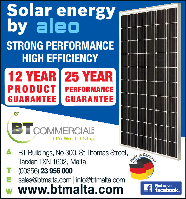 B T Commercial Ltd - Photovoltaic Systems
