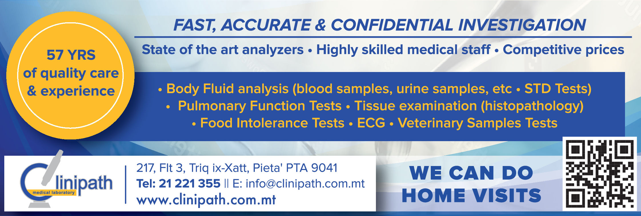 Clinipath Services Ltd - Laboratories-Medical & Clinical in